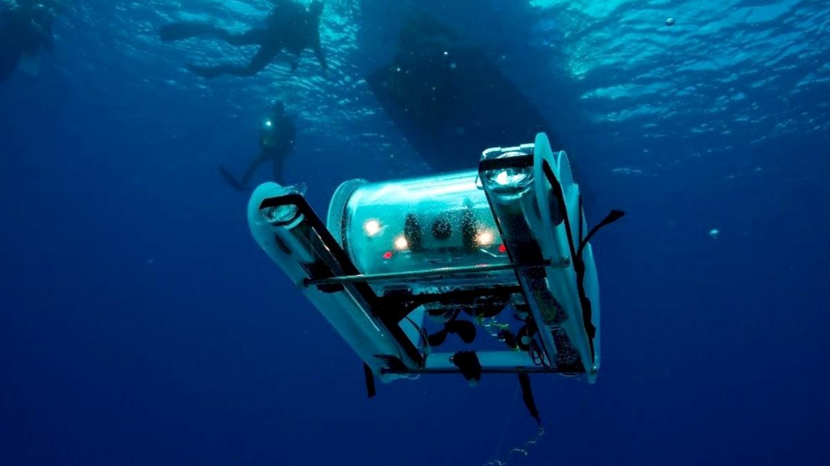 open ROV trident drone